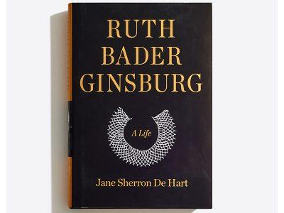 Ruth Bader Ginsburg, A Life by Jane Sherron De Hart book image