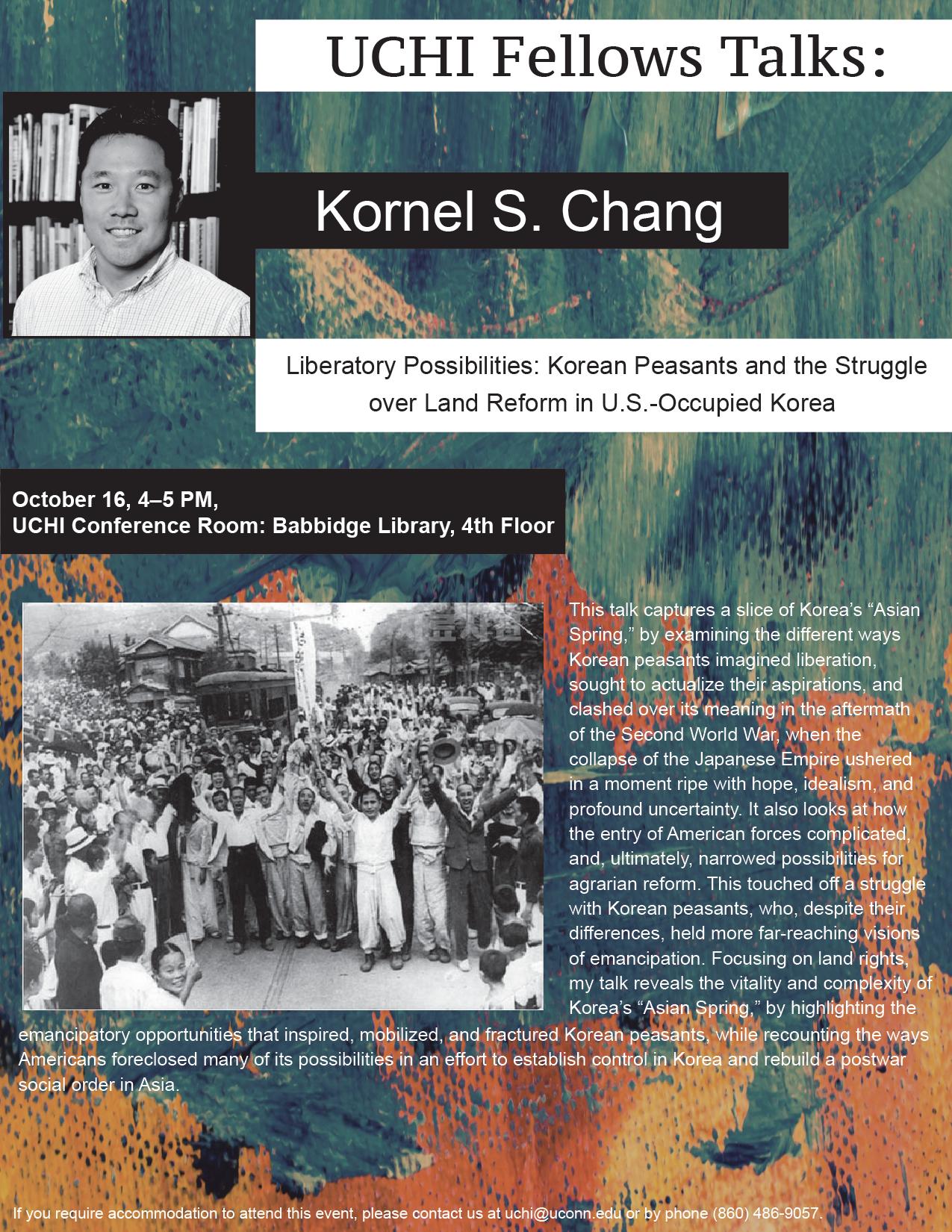 Chang Talk Poster
