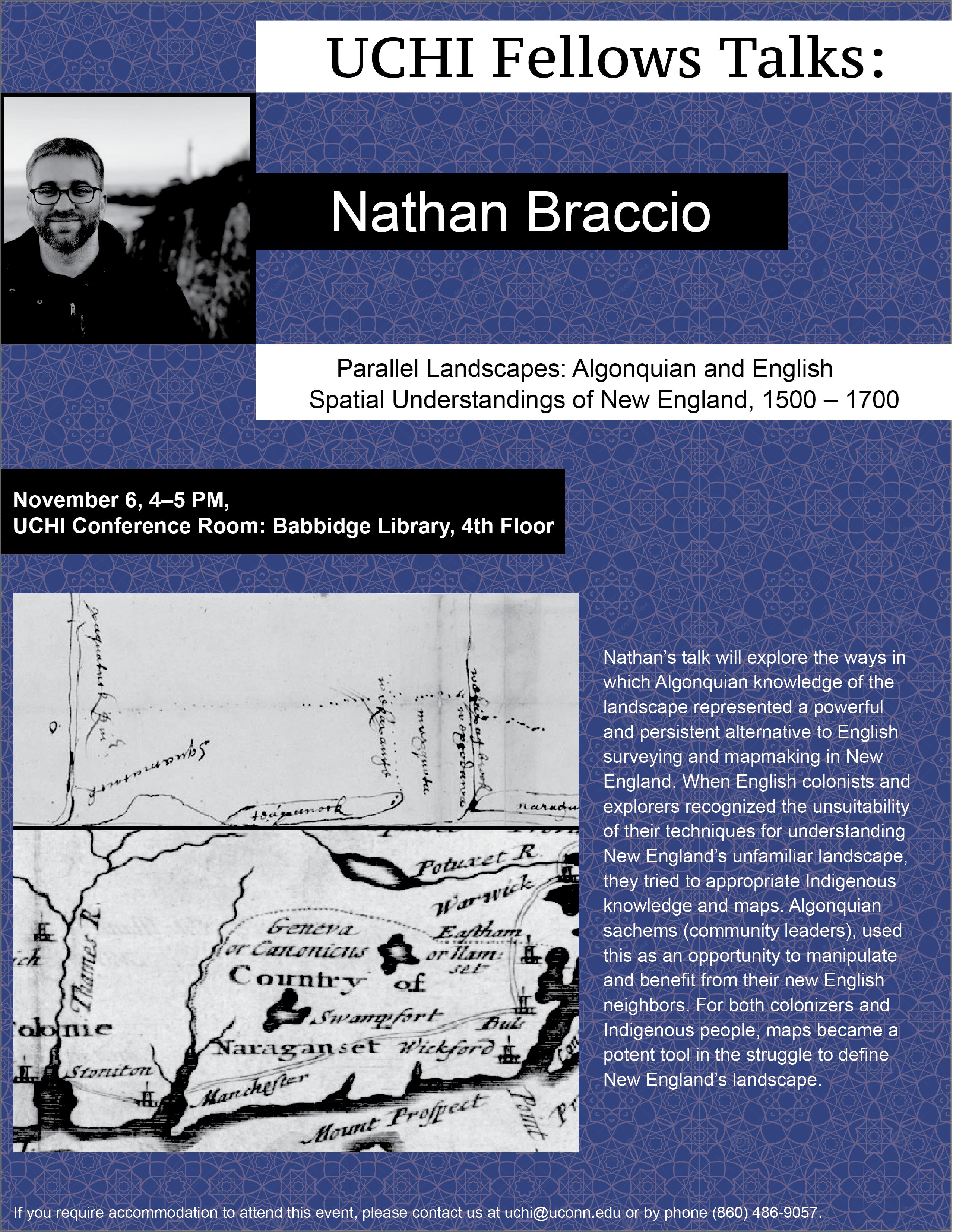 Braccio Talk Flyer