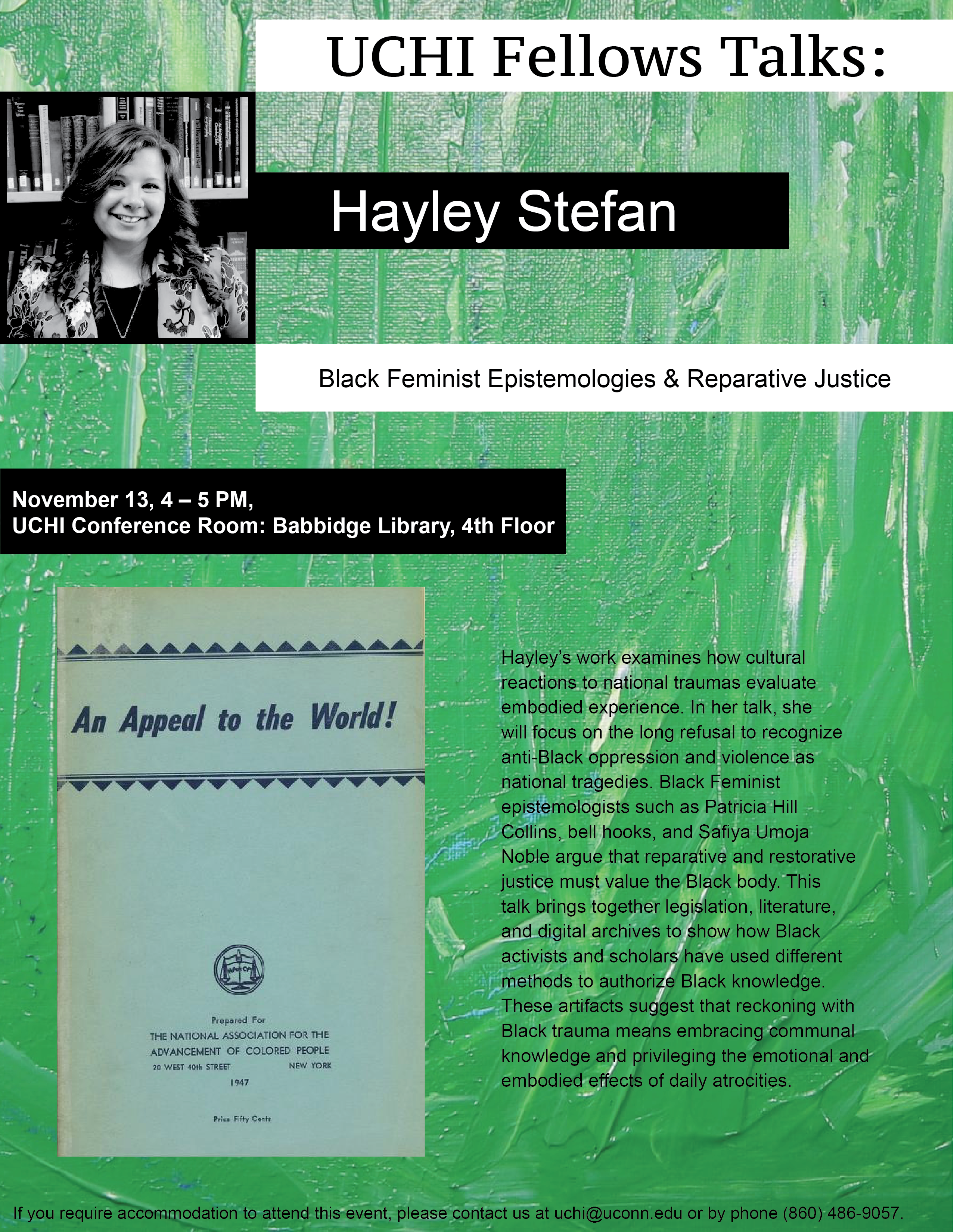 Stefan Talk Poster