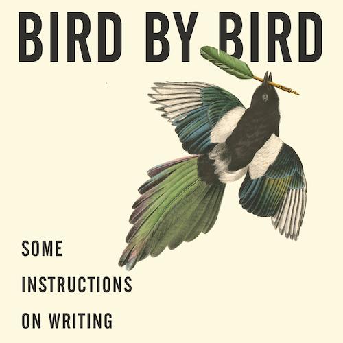 Book cover of Anne Lamott's Bird by Bird.