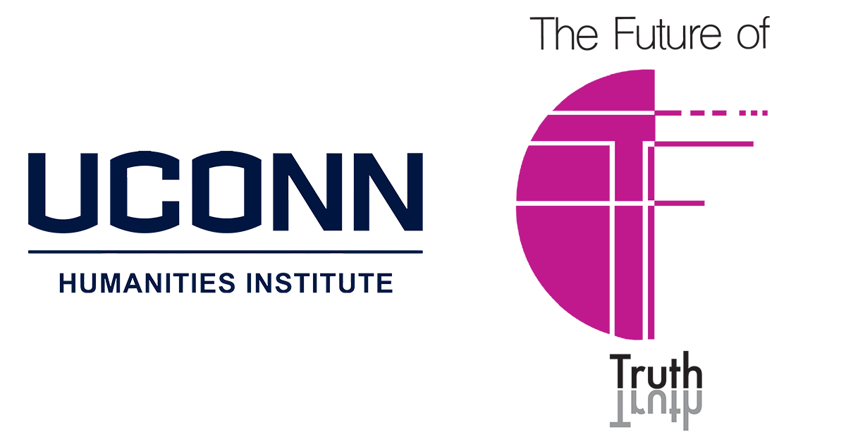 UConn Humanities Institute Logo, Future of Truth Logo
