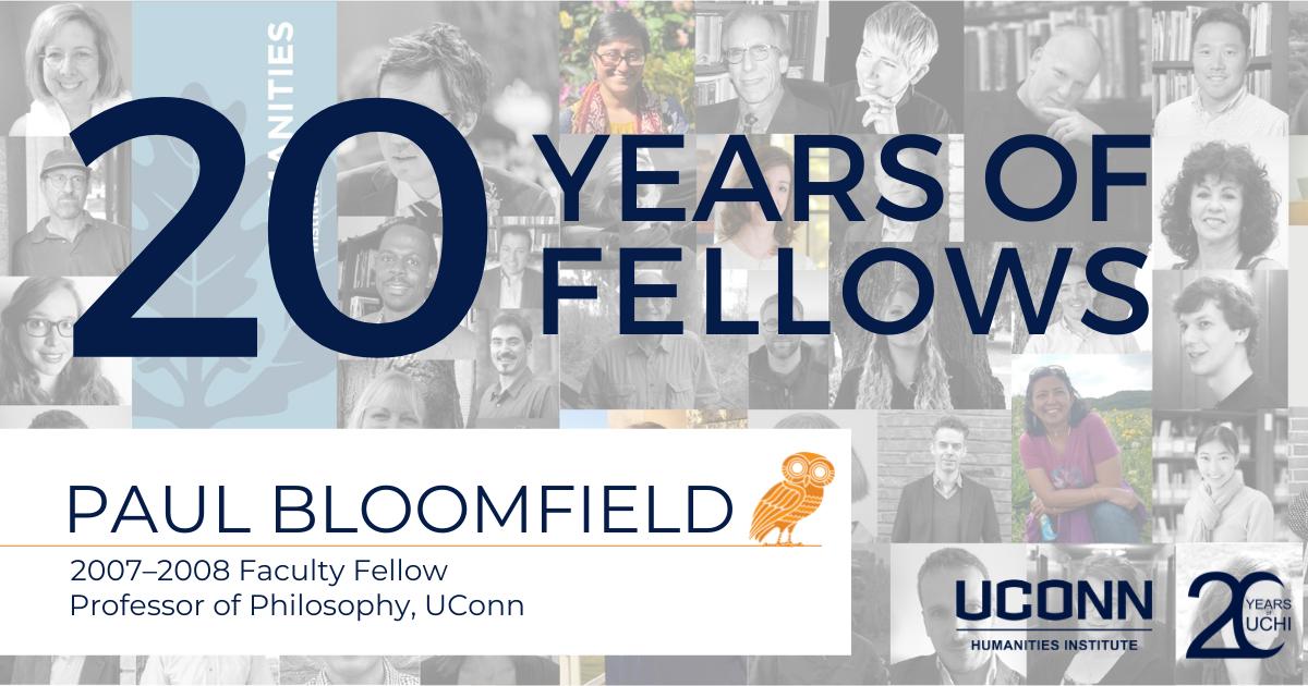 20 Years of Fellows: Paul Bloomfield